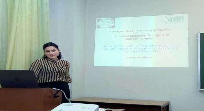 Senior researcher of the institute was on the scientific trip in Belarus
