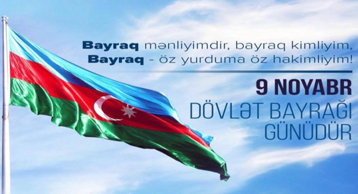 """9 noyabr """"Dövlət Bayrağı Günü""""nə həsr edilmiş tədbir keçirilib."""