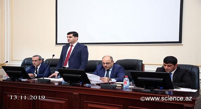 В НАНА обсуждалось современное состояние учебного процесса