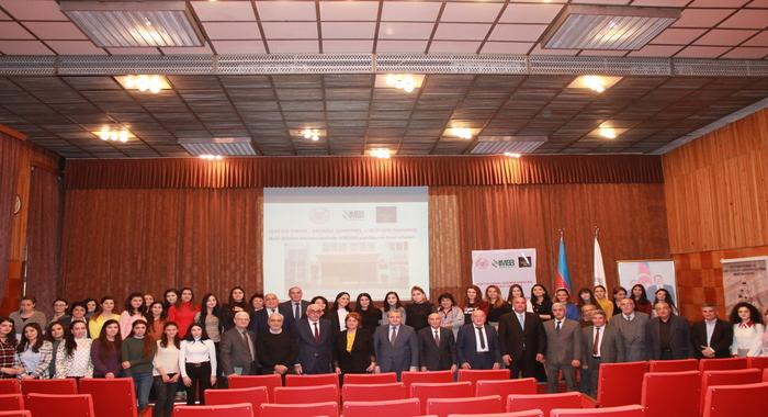 В ИМББ отметили 100-летний юбилей Бакинского Государственного Университета