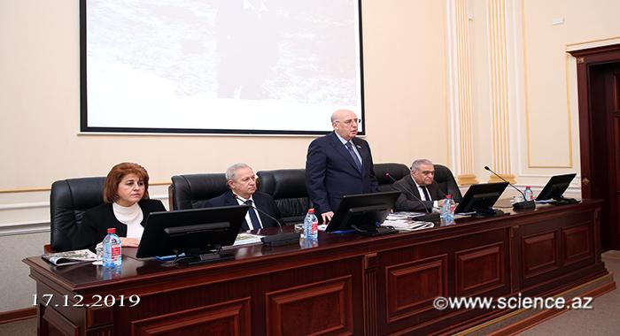 Отмечен 110-летний юбилей члена-корреспондента НАНА Казима Алекперова