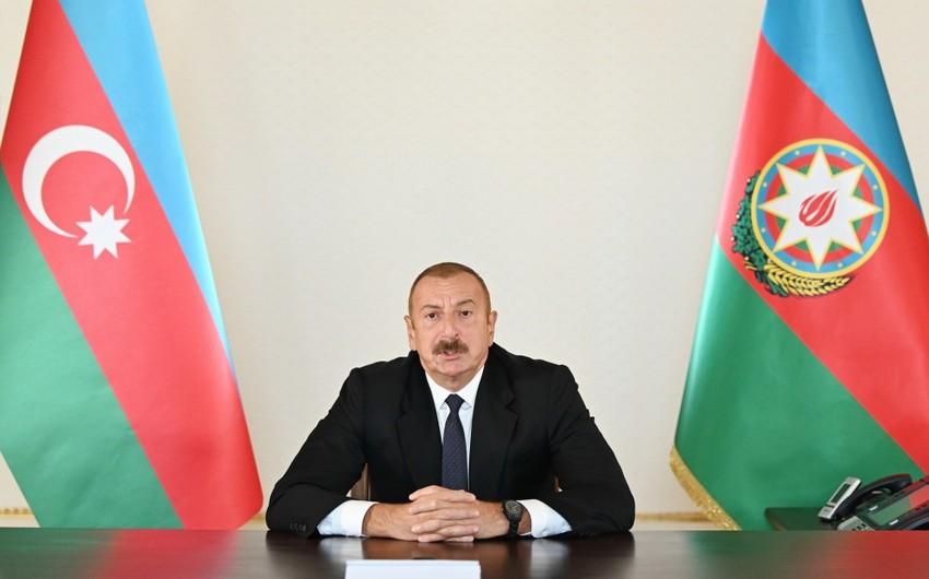 Prezident İlham Əliyev: Cəbrayıl rayonunun 13 kəndi azad edilib