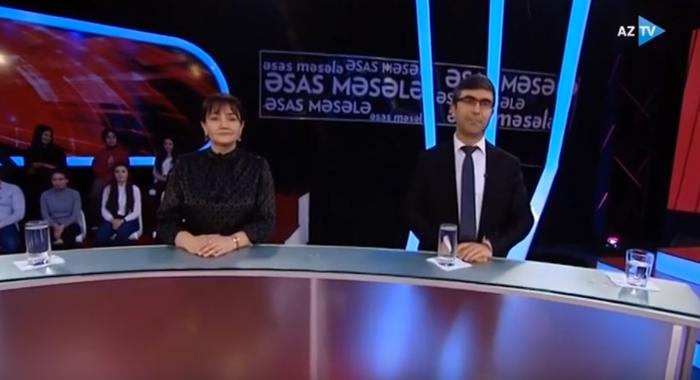Сотрудник института д.ф.б. Улдуза Мевалиева была гостем телевизионной передачи «Основной вопрос» на канале AZTV