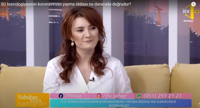 """İnstitutun kiçik elmi işçisi İTV-nin """"Sabahın xeyir, Azərbaycan"""" verlişinin qonağı olub"""