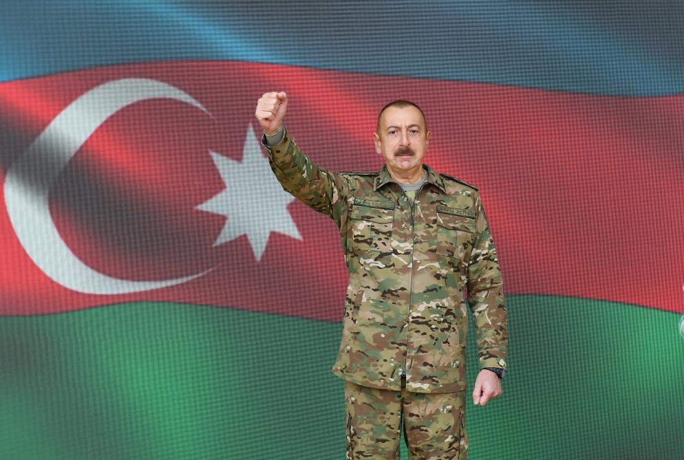 Victorius Supreme Commander-in-Chief of the Victorius Azerbaijani Army!