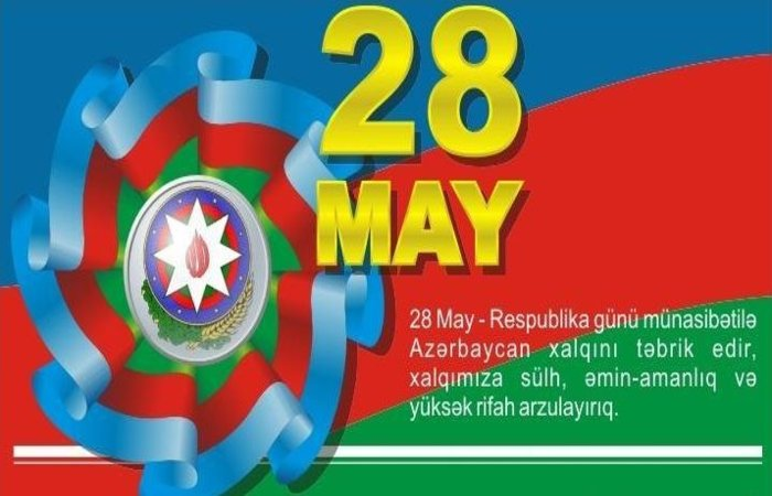28 May- Republic Day is celebrated as a national holiday in Azerbaijan