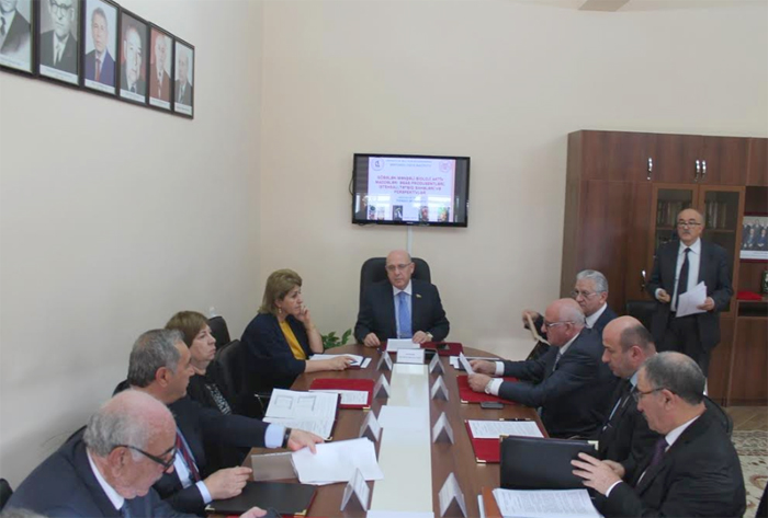 Проведено очередное заседание бюро Отделения биологических и медицинских наук