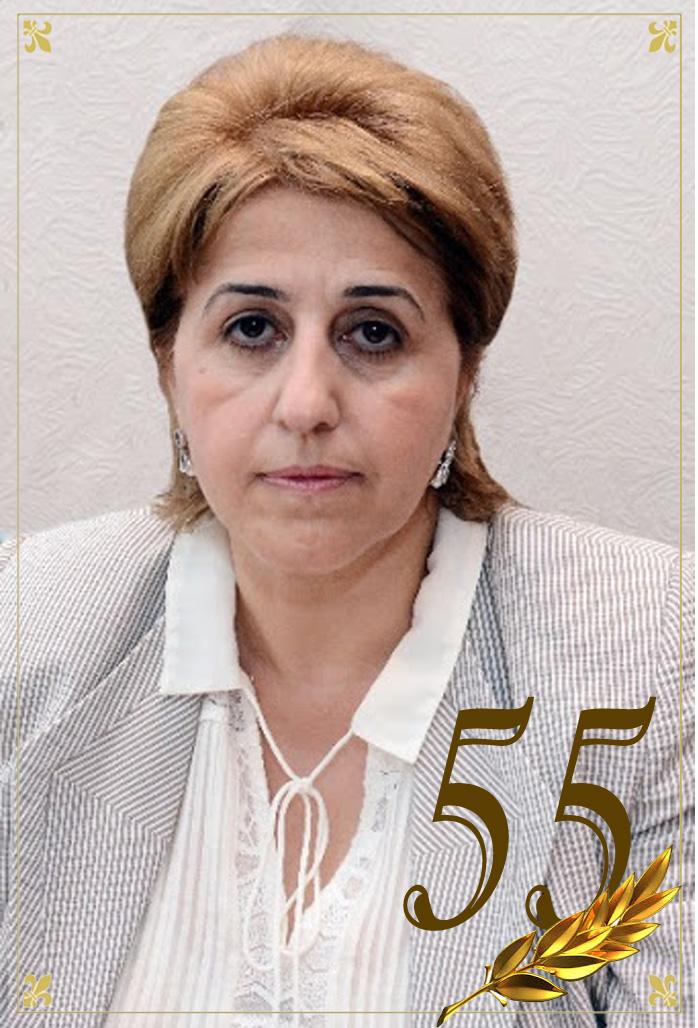 Akademik İradə Hüseynovanın 55 yaşı tamam olur