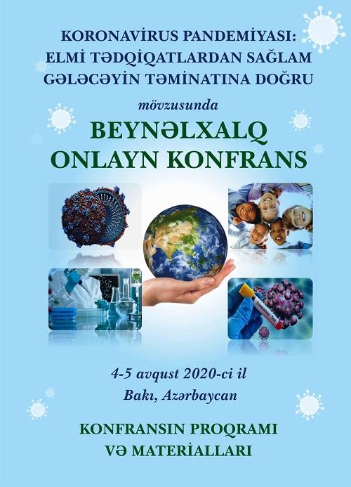 COVID-19 pandemiyasına həsr edilən beynəlxalq konfransın materialları dərc olunub
