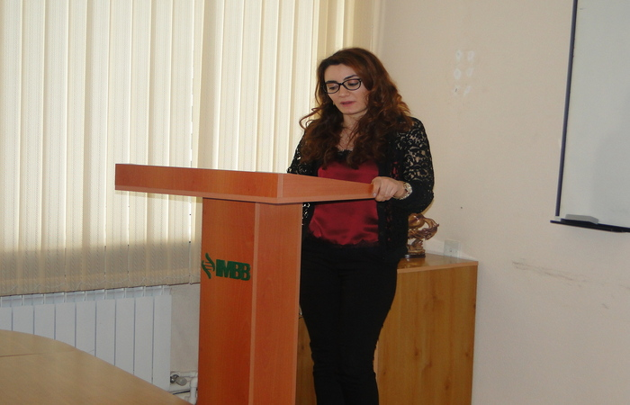 Младший научный сотрудник Молекулярной Биологии и Биотехнологий Наргиз Байрамова приняла участие в телевизионной передаче «Счастье» на канале AzTV