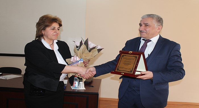 Correspondent member of ANAS, Doctor of Biological Sciences Ilham Ayyub Shahmuradov's 60th anniversary was celebrated.