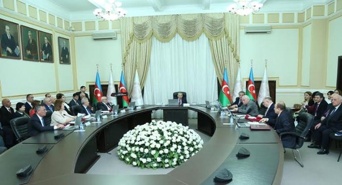 Состоялось заседание Президиума НАНА