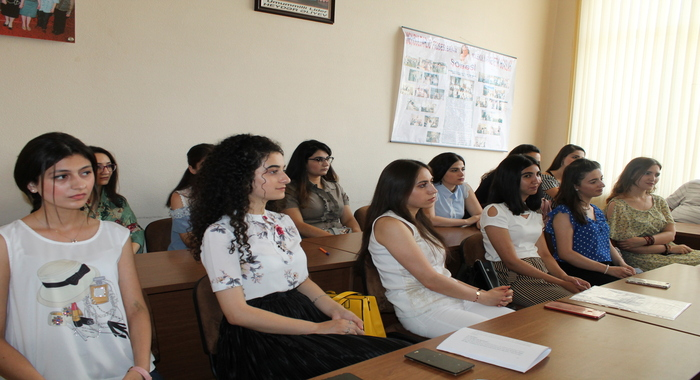 The Attestation of master students was held