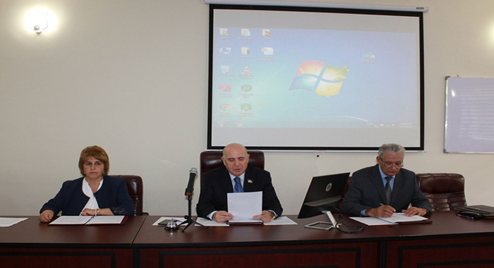 ANAS Department of Biological and Medical Sciences held general meeting