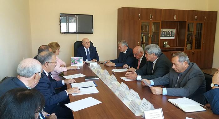 Состоялось заседание бюро Отделения биологических и медицинских наук