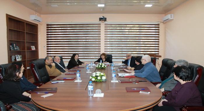 Прошло очередное заседание Ученого Совета Института Молекулярной Биологии и Биотехнологий НАНА