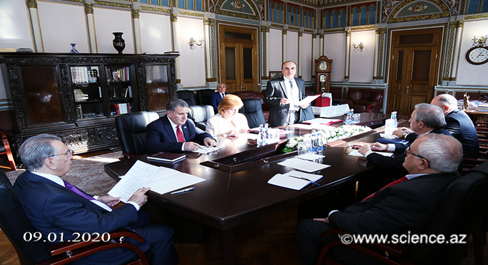 На заседании Президиума НАНА был принят ряд важных решений