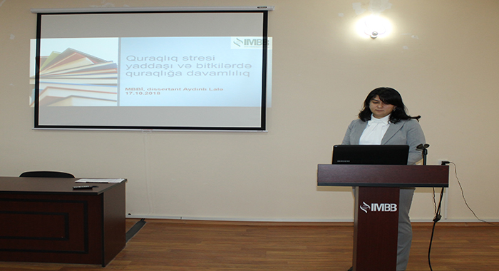 Прошел семинар на тему «Память стресса засухи и засухоустойчивость растений»