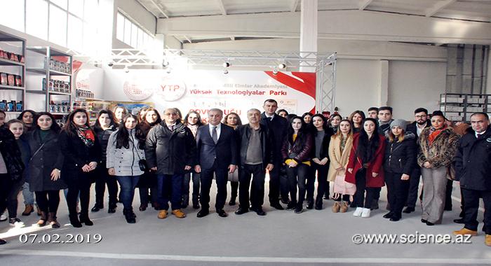 Молодые ученые Академии наук ознакомились с производственным процессом Парка ВТ
