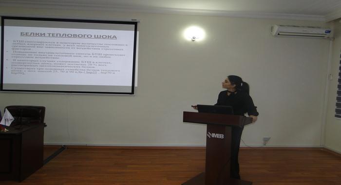 Прошел научный семинар на тему «Роль белков теплового шока в туморогенезе»