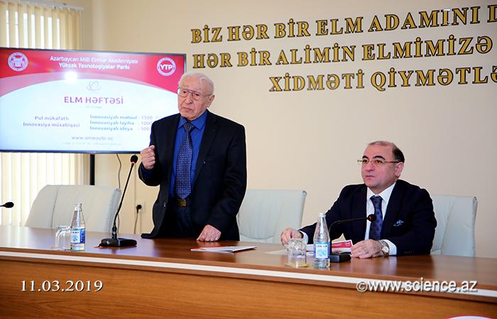 """""""Elm həftəsi"""" öz işinə başlayıb"""