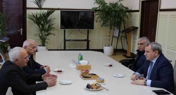 Обсуждены возможности сотрудничества с известным ученым Сулейманом Аллахвердиевым