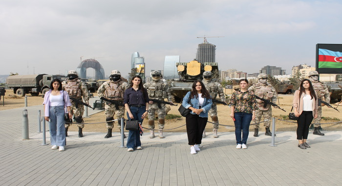 Members of the Council of Young Scientists and Specialists celebrated Remembrance Day
