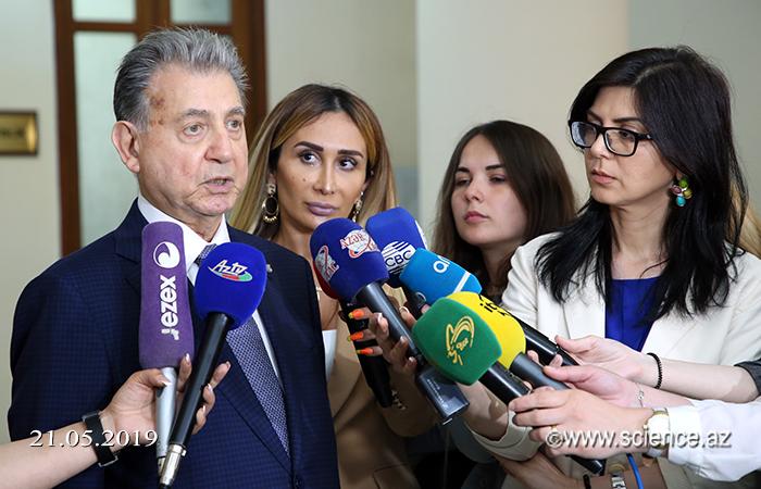 Академик Акиф Ализаде: «Подписанный договор между НАНА и РАН открывает новые и успешные приоритетные направления для азербайджанской науки»
