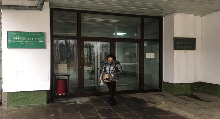 Старший лаборант международной лаборатории «Бионанотехнологии» совершила научную командировку в город Пущино Российской Федерации