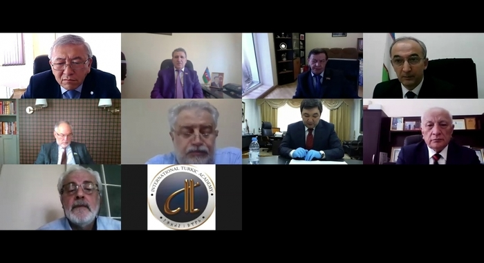 AzTV kanalında Türk Dünyası Elmlər Akademiyaları Birliyinin iştirakı ilə keçirilən onlayn iclas haqqında sujet yayımlanıb