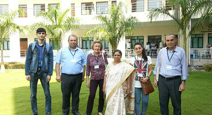 Representatives of the institute participated in the conference in India