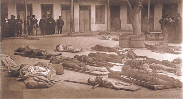 Erməni daşnaklarının azərbaycanlılara qarşı törətdiyi soyqırımından 102 il ötür
