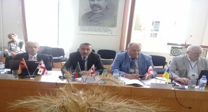 Сотрудник института Тофик Аллахвердиев выступил на международной конференции