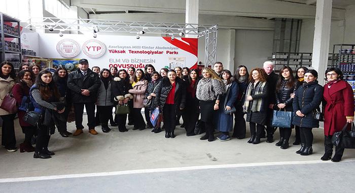 Участники «Зимней школы молодых биологов - 2019» посетили Парк ВТ