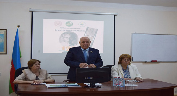 ANAS Institute of Botany honored the memory of corresponding member of ANAS Ivan Karagin
