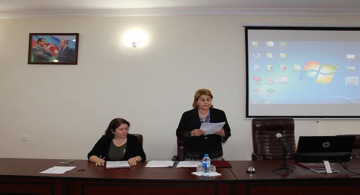 İnstitutun 2019-cu il üçün elmi-tədqiqat işləri üzrə hesabatlarına başlanıldı
