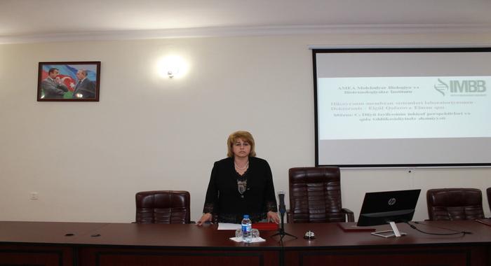 İnstitutun 2019-cu il üçün elmi-tədqiqat işləri üzrə hesabatları davam edir.