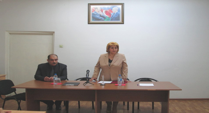 Доктор биологических наук Эльшад Ахмедов был представлен коллективу Института зоологии