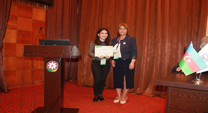 At the end of the conference young scientists and specialists were presented awards.