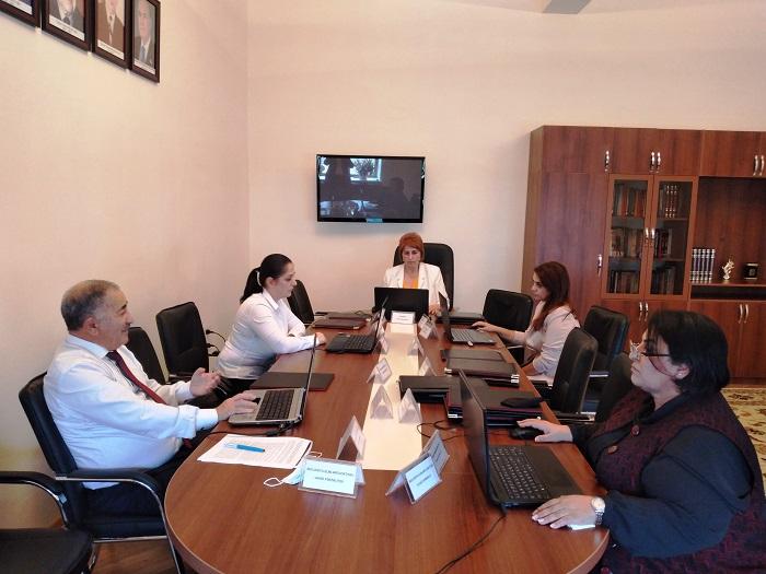 Состоялось обсуждение проектов, представленных институтами НАНА в Министерство сельского хозяйства