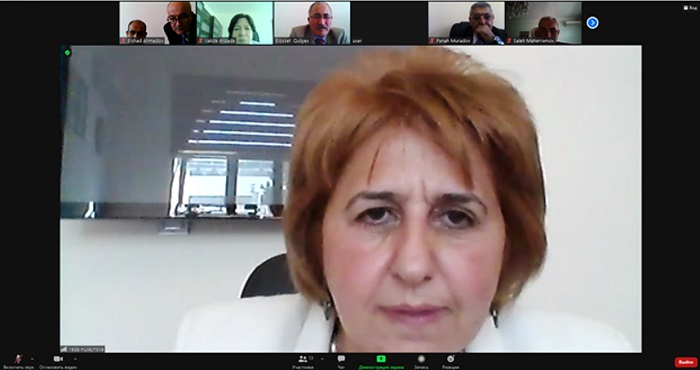 Academic Council of the Division of Biological and Medical Sciences of ANAS held an online meeting