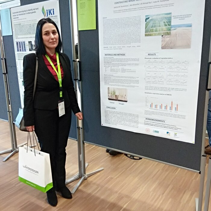 Leading research fellow of the institute, Ph.D. in biology, associate professor Samira Rustamova participated in the international symposium