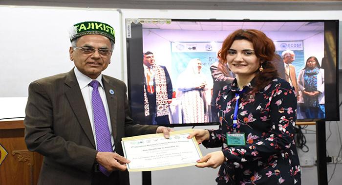 Nargiz Bayramova  was on scientific mission in Karachi, Pakistan on 12-22 February, 2018