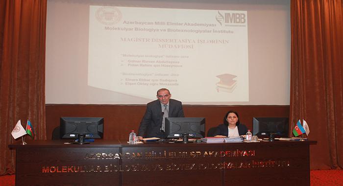İkinci kurs magistrantların dissertasiya işlərinin müdafiəsi keçirildi