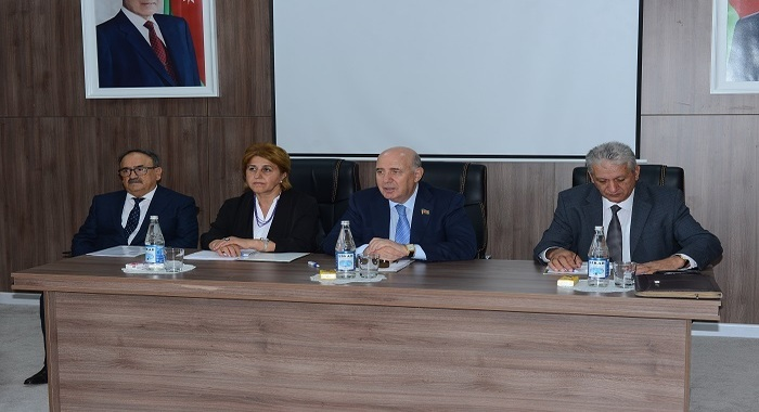 ANAS Division of Biological and Medical Sciences and Sheki Regional Scientific Center held a joint meeting