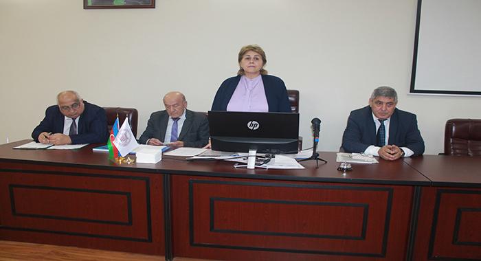 Прошло очередное заседание Ученого Совета по проблемам биологии