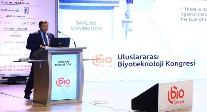 Azərbaycanlı alim beynəlxalq konqresdə elmi nəticələrini təqdim edib