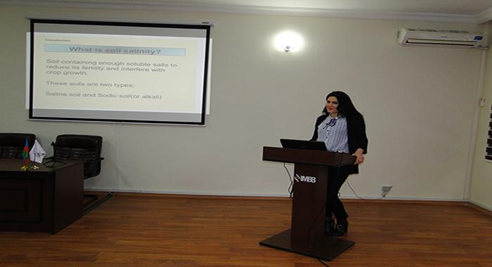 Прошел семинар на тему «Механизмы солеустойчивости у растений»