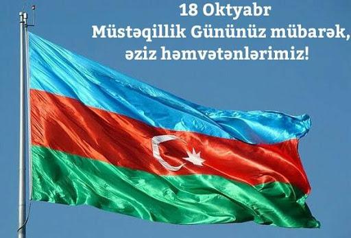 18 oktyabr Milli Müstəqillik Günüdür