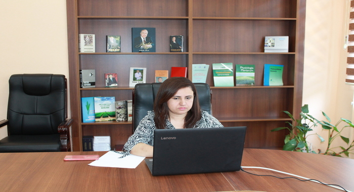 Leading researcher of the institute, PhD in biology Gulnara Balakishiyeva attended the 18th meeting of the Council of Europe, Bioethics Committee (DH-BIO) online